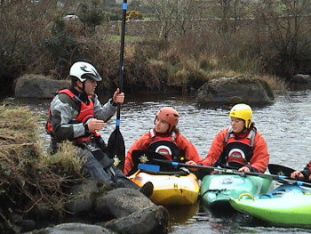 Kayak Instructor Training