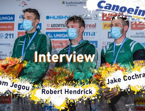 Interview – Canoe Slalom C1 Men Team Silver Medal