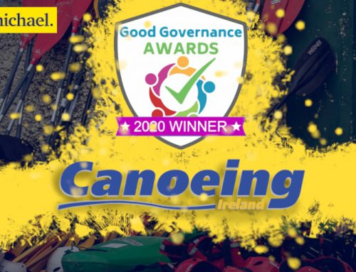 Canoeing Ireland is winner of the Carmichael Good Governance Award 2020
