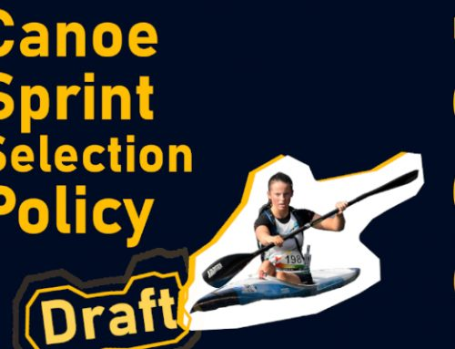 Canoe Sprint Selection Policy Draft Consultation